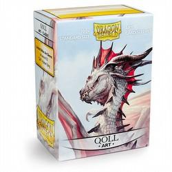 Dragon Shield Sleeves - Qoll Art [2 packs]
