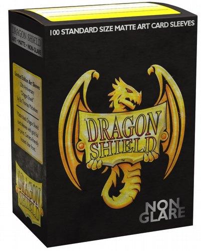 Dragon Shield Sleeves Pack - Matte Black Non-Glare 20th Anniversary