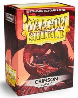 Dragon Shield Sleeves Box - Crimson