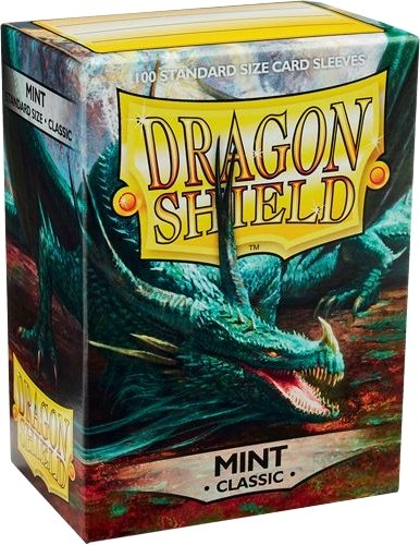 Dragon Shield Standard Size Card Game Sleeves Pack - Mint
