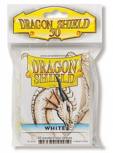 Dragon Shield Standard Sleeves Pack - White [50 sleeves]