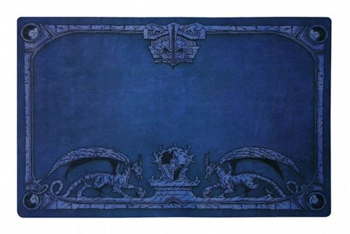 Dragon Shield Deck Play Mat - Blue