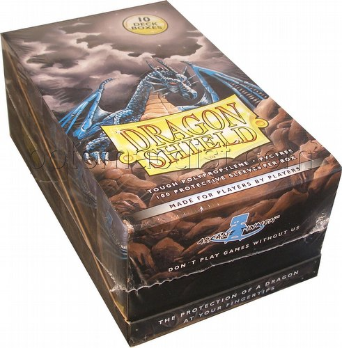 Dragon Shield Sleeves Box - Black