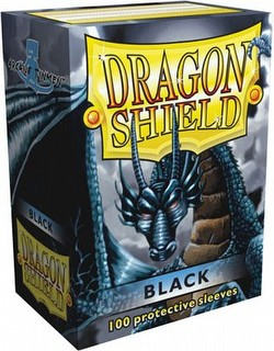 Dragon Shield Sleeves Pack - Black