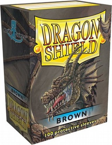 Dragon Shield Deck Protector Pack - Brown