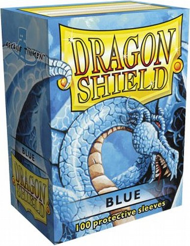 Dragon Shield Sleeves Pack - Blue