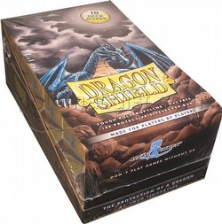 Dragon Shield Sleeves Box - Gold