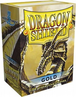 Dragon Shield Sleeves Pack - Gold