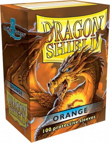 Dragon Shield Deck Protector Pack - Orange