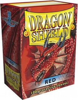 Dragon Shield Deck Protector Pack - Red