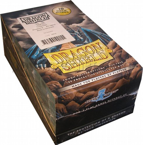 Dragon Shield Deck Protector Box - Turquoise