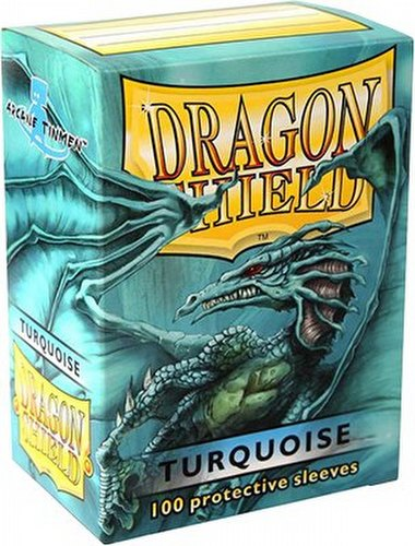Dragon Shield Sleeves Pack - Turquoise