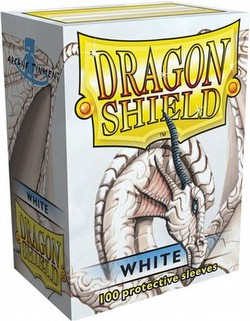 Dragon Shield Sleeves Pack - White