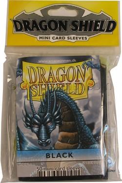 Dragon Shield Mini (Yu-Gi-Oh Size) Deck Protector Pack - Black