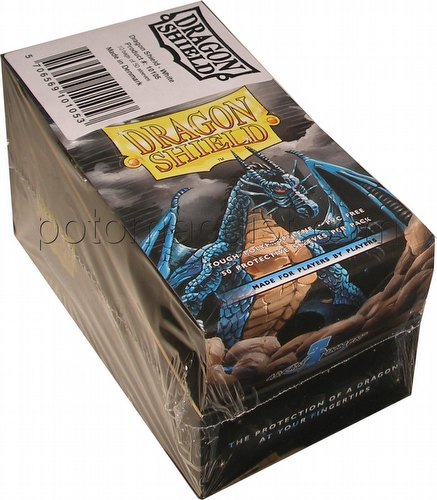 Dragon Shield Mini (Yu-Gi-Oh Size) Card Sleeves Box - White [10 packs]