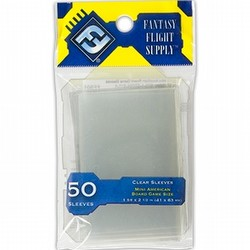 Fantasy Flight Board Game Sleeves Pack - Mini American