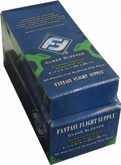 Fantasy Flight Board Game Sleeves - Standard American