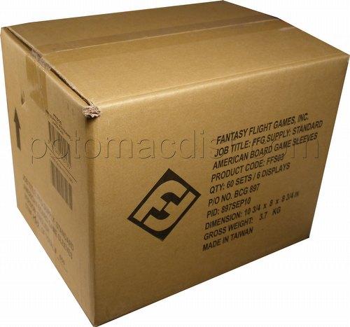 Fantasy Flight Board Game Sleeves - Standard American Case [6 boxes]