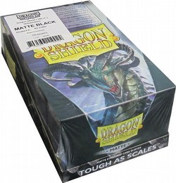 Dragon Shield Standard Size Card Game Sleeves Box - Matte Black