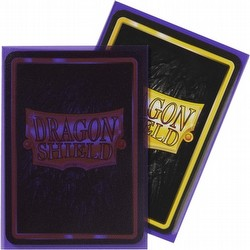 Dragon Shield Standard Size Card Game Sleeves Box - Matte Clear Purple