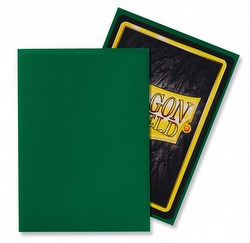 Dragon Shield Standard Size Card Game Sleeves Box - Matte Green