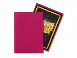 Dragon Shield Standard Size Card Game Sleeves Pack - Matte Magenta