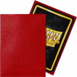 Dragon Shield Standard Size Card Game Sleeves Pack - Matte Ruby