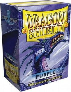 Dragon Shield Sleeves Box - Purple