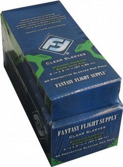 Fantasy Flight Board Game Sleeves - Standard American Case [6 boxes]
