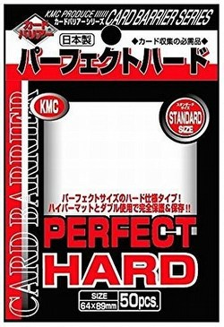 KMC Standard Size Deck Protectors - Perfect Hard Sleeves Case [30 packs]