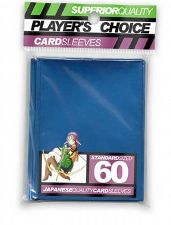 Player's Choice Standard Size Sleeves Pack - Metallic Blue