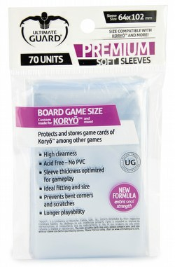 Ultimate Guard Premium Koryo Board Game Sleeves [10 Packs]