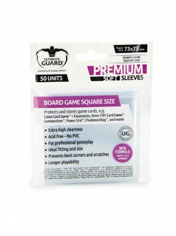 Ultimate Guard Premium Square Board Game Sleeves [10 Packs]