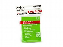 Ultimate Guard Supreme Standard Size Light Green Sleeves Box [10 packs]