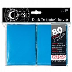 Ultra Pro Pro-Matte Eclipse Standard Size Deck Protectors Box - Light Blue