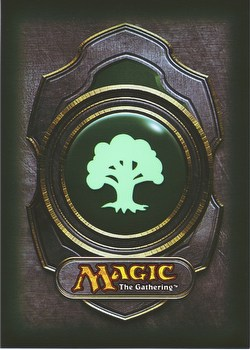 Ultra Pro Standard Size Deck Protectors - Green Magic Mana Symbol Version 3 Pack