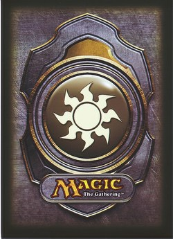 Ultra Pro Standard Size Deck Protectors - White Magic Mana Symbol Version 3 Pack