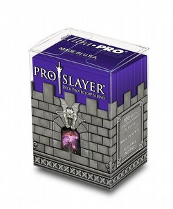 Ultra Pro Standard Size Deck Protectors Box - Pro Slayer Purple