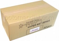 KMC Card Barrier Mat Series Standard Size Sleeves - Hyper Matte Purple Case [30 packs]