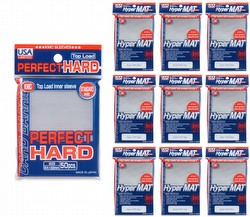 KMC Standard Size Sleeves - Perfect Hard [10 packs]