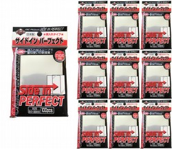 KMC Standard Size Sleeves - Perfect Size (Perfect Fit) Side In (Side Load) [10 packs]