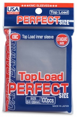 KMC Card Barrier Standard Size Sleeves - Perfect Size Pack