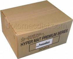 KMC Card Barrier Mat Series Standard Size Sleeves Case - Premium Hyper Matte Black [30 packs]