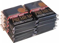 KMC Card Barrier Mat Series Standard Size Sleeves - Premium Hyper Matte Black [10 packs]