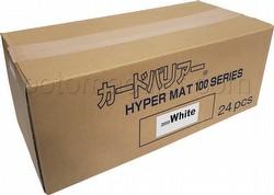 KMC Hyper Matte USA 100 ct. Standard Size Sleeves - White Case [24 packs]