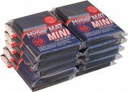 KMC Card Barrier Hyper Mat Mini Yu-Gi-Oh Size Sleeves - Hyper Matte Black [10 packs]
