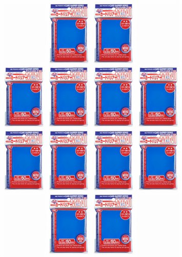 KMC Card Barrier Mini Series Yu-Gi-Oh Size Sleeves - Blue [10 packs]