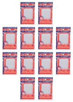 KMC Card Barrier Mini Series Yu-Gi-Oh Size Sleeves - Mini Hard Clear [10 packs]