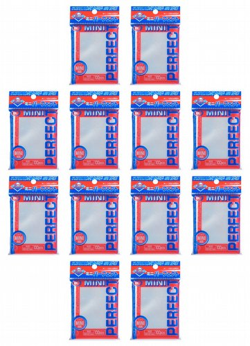 KMC Card Barrier Mini Series Yu-Gi-Oh Size Sleeves - Perfect Size (Perfect Fit) [10 packs]