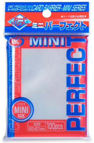 KMC Card Barrier Mini Series Yu-Gi-Oh Size Sleeves Pack - Perfect Size (Perfect Fit)